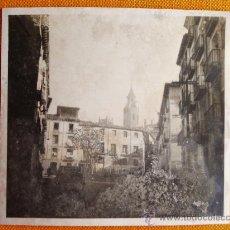 Fotografía antigua: 1928 - HUESCA. FOTOGRAFÍA ORIGINAL.. Lote 31880848