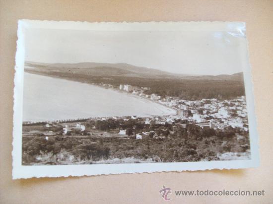 VISTA BALNEARIO PIRIAPOLIS DESDE EL CERRO SAN ANTONIO 1950 FOTO ROBERTO DE CESARE (Fotografía Antigua - Fotomecánica)