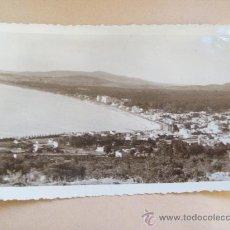 Fotografía antigua: VISTA BALNEARIO PIRIAPOLIS DESDE EL CERRO SAN ANTONIO 1950 FOTO ROBERTO DE CESARE. Lote 31977460