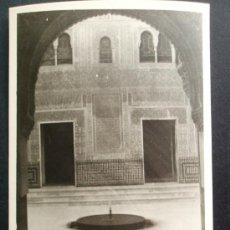 Fotografía antigua: 1954- LA ALHAMBRA. GRANADA. FOTOGRAFÍA ORIGINAL.. Lote 32073021