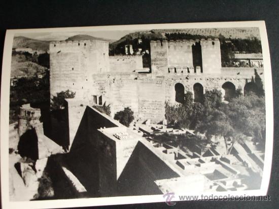 1954- ALHAMBRA DE GRANADA. FOTOGRAFÍA ORIGINAL. (Fotografía Antigua - Fotomecánica)