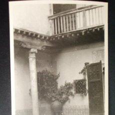 Fotografía antigua: 1954- CASA DEL GRECO. TOLEDO. FOTOGRAFÍA ORIGINAL.. Lote 32073728