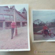 Fotografía antigua: HOMBRE JOVEN - JEUNE HOMME - YOUNG MAN - 2 PHOTOS COLOR. Lote 32137027