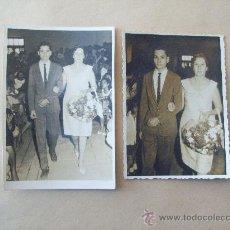 Fotografía antigua: MADRE CON SU HIJO. BOY WITH HIS MOTHER - GARÇON AVEC SA MÈRE, 2 PHOTOS. Lote 32184433