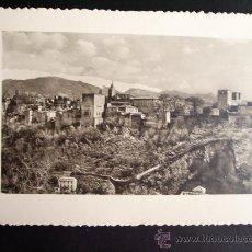 Fotografía antigua: 1955 - LOTE DE 10 FOTOS DE LA ALHAMBRA. GRANADA. FOTOGRAFÍAS PROFESIONALES Y ORIGINALES. PRECIOSAS.. Lote 32328632