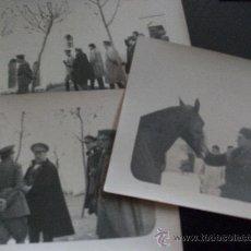 Fotografía antigua: LOTE DE 3 FOTOS DE LA GUERRA DE AFRICA: REGULARES, SANJURJO Y VARELA. Lote 33128221