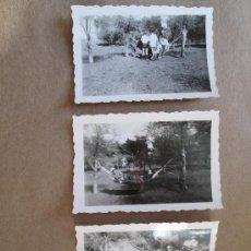Old photograph - HAMACA PARAGUAYA JOVENES JARDIN.Hamac jardin Jeune. YOUNG GARDEN hammock - 3 PHOTOS - 33136524