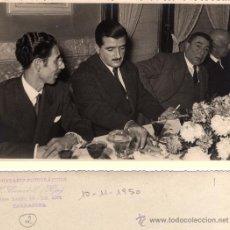 Fotografía antigua: CENA HOMENAJE AL GOBERNADOR CIVIL DE TARRAGONA SR. FCO. LABADIE OTERMIN EL 10 DE NOVIEMBRE DE 1950. Lote 47982830