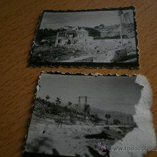 Fotografía antigua: FOTOGRAFÍAS ALTO DEL LEÓN. GUERRA CIVIL. Lote 33229252