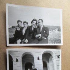 Fotografía antigua: URUGUAY, PIRIAPOLIS - 2 PHOTOS, 1952. Lote 33244700