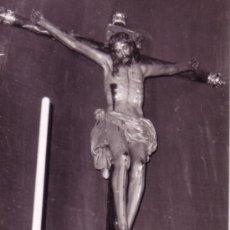 Fotografía antigua: SEMANA SANTA DE SEVILLA - ESTAMPA FOTOGRAFICA DEL CRISTO DE LAS CINCO LLAGAS - TRINIDAD - 1969. Lote 33556376