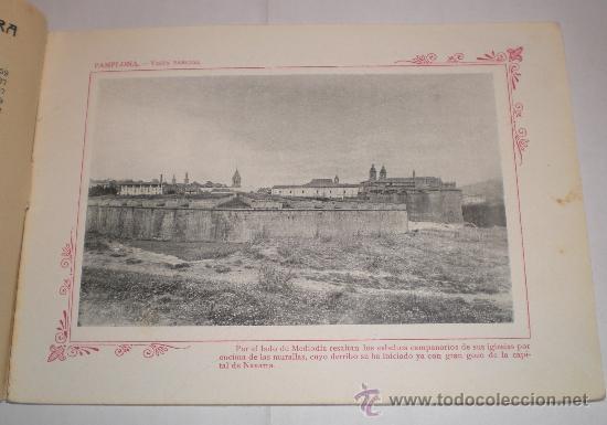 Fotografía antigua: PORTAFOLIO FOTOGRÁFICO DE ESPAÑA: Nº 29 PAMPLONA - Foto 2 - 33619102