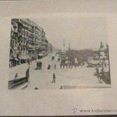 Fotografía antigua: FOTOTIPIA SANTANDER EL MUELLE HAUSER Y MENET CIRCA 1900. Lote 33633588