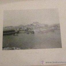 Fotografía antigua: FOTOTIPIA CARTAGENA MURCIA VISTA GENERAL HAUSER Y MENET AÑO 1892. Lote 33634547