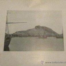 Fotografía antigua: FOTOTIPIA ALICANTE VISTA GENERAL HAUSER Y MENET AÑO 1892. Lote 33634664