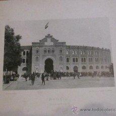 Fotografía antigua: FOTOTIPIA MADRID PLAZA DE TOROS HAUSER Y MENET AÑO 1892 SIGLO XIX. Lote 33649162