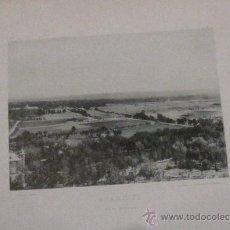 Fotografía antigua: FOTOTIPIA ARANJUEZ MADRID VISTA GENERAL HAUSER Y MENET AÑO 1892 SIGLO XIX. Lote 33649410