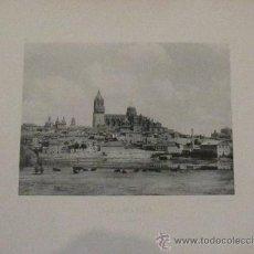 Fotografía antigua: FOTOTIPIA SALAMANCA VISTA GENERAL HAUSER Y MENET AÑO 1892 SIGLO XIX. Lote 33649796