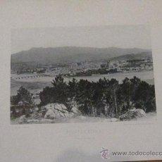 Fotografía antigua: FOTOTIPIA PONTEVEDRA VISTA GENERAL HAUSER Y MENET AÑO 1892 SIGLO XIX. Lote 33649833