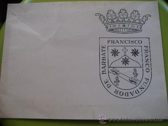 BARBATE DE FRANCO. CADIZ. FOTO AEREA Y FELICITACION.17 X 13 CMS. (Fotografía Antigua - Fotomecánica)