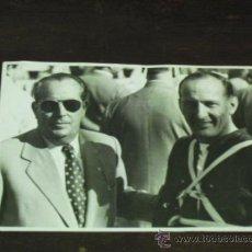 Fotografía antigua: FOTO 1ER. CLASIFICADO GRAN PREMIO INTERNACIONAL DE BARCELONA - 1952 . GRAHAM L. M.V. AGUSTA. Lote 34052895