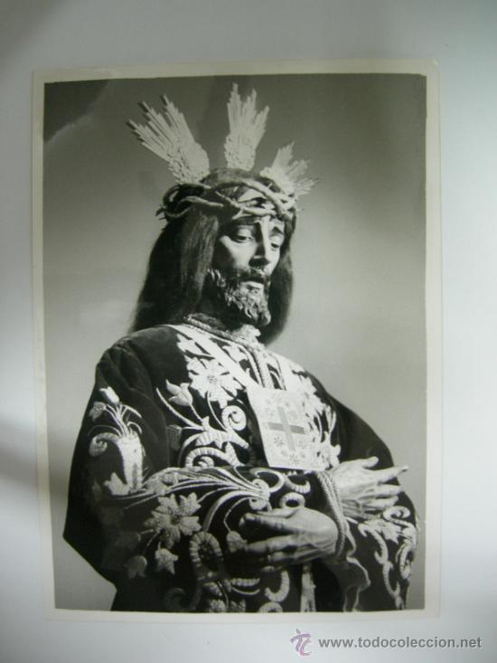 ANTIGUA FOTOGRAFIA DE JESUS RESCATADO - CÓRDOBA, AÑOS 70 - FOTO LADIS-HIJO (Fotografía Antigua - Fotomecánica)