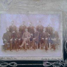 Fotografía antigua: 1910. FOTOGRAFIA ORQUESTA LA MODERNA GRANOLLERS RIPOLLET EMILIO MARLET MUSICA CARNAVAL. Lote 34163137