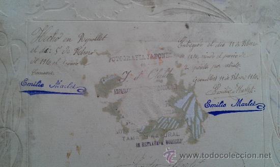 Fotografía antigua: 1910. FOTOGRAFIA ORQUESTA LA MODERNA GRANOLLERS RIPOLLET EMILIO MARLET MUSICA CARNAVAL - Foto 4 - 34163137