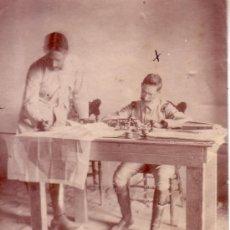 Fotografía antigua: FOTOGRAFIA ANTIGUA MILITAR FECHADA EN 1912. Lote 34287207