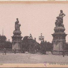 Fotografía antigua: BARCELONA. PARQUE, LA ENTRADA.. Lote 34934802