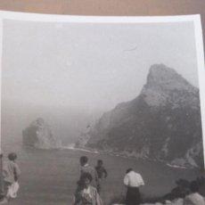 Fotografía antigua: ANTIGUA FOTOGRAFIA EL COLOME MALLORCA 1955. Lote 35010077