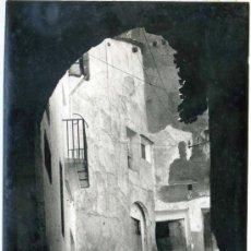 Fotografía antigua: ARCOS DE LAS SALINAS (TERUEL). FOTOGRAFIA GRAN FORMATO. Lote 35043499