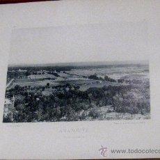 Fotografía antigua: FOTOTIPIA MADRID ARANJUEZ VISTA GENERAL HAUSER Y MENET AÑO 1892 SIGLO XIX. Lote 35258710