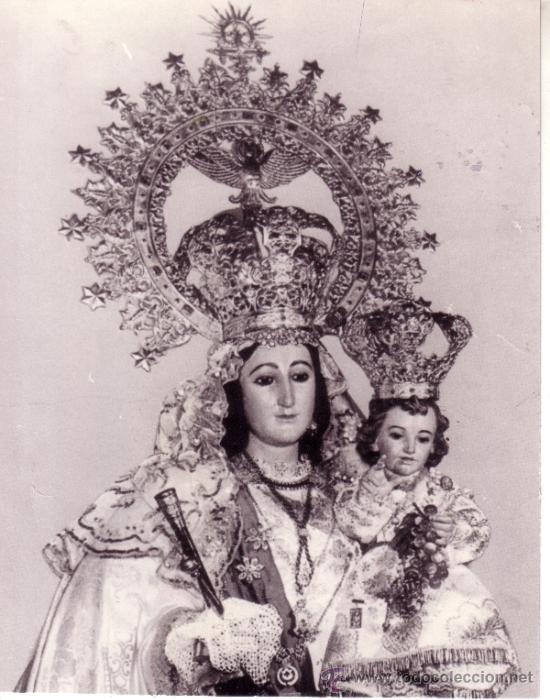 Fotografia De La Virgen De Las Viñas Patrona De Comprar Fotografía Antigua Fotomecánica En Todocoleccion 35471205
