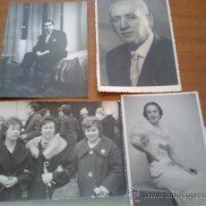 Fotografía antigua: FOTOS LOTE DE 4 PRINCIPIOS DE LOS 60. Lote 35639432