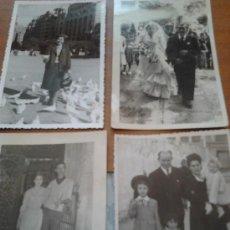 Fotografía antigua: FOTOS LOTE DE 4 PRINCIPIOS DE LOS 60. Lote 35639555