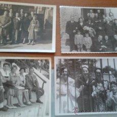 Fotografía antigua: FOTOS ,LOTE DE 4 PRINCIPIOS DE LOS 60. Lote 35639650