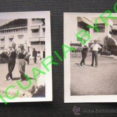 Fotografía antigua: 2 FOTOGRAFÍAS. FORMENTOR. HOTEL. 7 X 5 CM. AÑO 1932. Lote 36103562