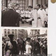 Fotografía antigua: VALENCIA. LOTE DE 113 FOTOGRAFÍAS ORIGINALES Y DIFERENTES. GRACE KELLY Y RAINIERO DE MÓNACO. 1956. Lote 36186932