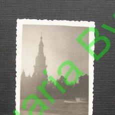 Fotografía antigua: FOTOGRAFÍA ANTIGUA. SEVILLA. 7 X 5,5 CM. 1961. Lote 36291830