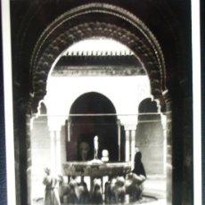 Fotografía antigua: 1952 - ALHAMBRA DE GRANADA. FOTOGRAFÍA ORIGINAL.. Lote 36490567