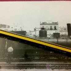 Fotografía antigua: FOTOGRAFÍA LOCOMOTORA RENFE 030-2323 EX 384 MZA JUNIO 1963 SAN BERNARDO SEVILLA - CLICHÉ DAHLSTRÖM. Lote 36720224