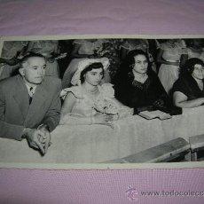 Fotografía antigua: FOTO DE BODA EN MÉXICO AÑO 1955. Lote 36839230