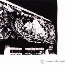 Fotografía antigua - FOTO. FRISO CERÁMICO DE RENAU EN EDIFICIO DE BERLIN. AÑOS 60-70. ORIGINAL¡¡¡¡ - 37030683