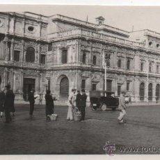 Fotografía antigua: SEVILLA, 1929, PLAZA DE SAN FRANCISCO, 7X11 CMS.APROX.PRECIOSA. Lote 37425702