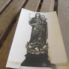 Fotografía antigua: ANTIGUA FOTO DE LA VIRGEN DE LOS REMEDIOS PATRONA DE ARROYOMOLINOS . Lote 37429187
