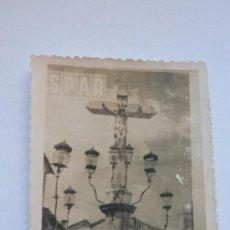Fotografía antigua: FOTOGRAFÍA AÑOS 50 CRISTO DE LOS FAROLES, CÓRDOBA.. Lote 37640692
