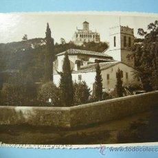 Fotografía antigua: FOTOGRAFIA ORIGINAL - VALLVIDRERA, BARCELONA, IGLESIA Y VILLA JUANA, AÑOS 20. Lote 223203908