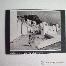 Fotografía antigua: 1957-CALLE ALMERIA. OLVERA. CADIZ. FOTOGRAFÍA ORIGINAL. Lote 37916654