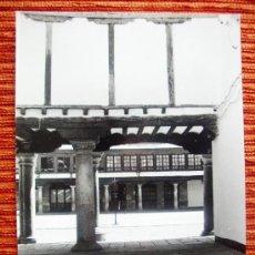 Fotografía antigua: 1984 - PLAZA MAYOR DE ALMAGRO. CIUDAD REAL. FOTOGRAFÍA ORIGINAL GRANDE. Lote 37968287